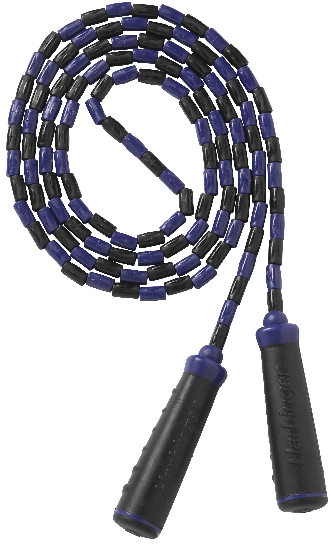 Met het kralen springtouw van harbinger kun je je conditie of uithoudingsvermogen verbeteren. door ...