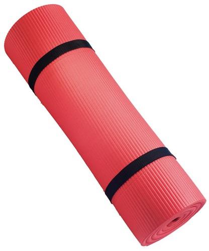 Harbinger Fitnessmat opgerold met riblaag - Verpakking beschadigd