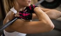 Harbinger womens pro wash & dry 2 fitness handschoenen squat