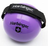 Harbinger Fitnessbal met Velcro binding om hand-3