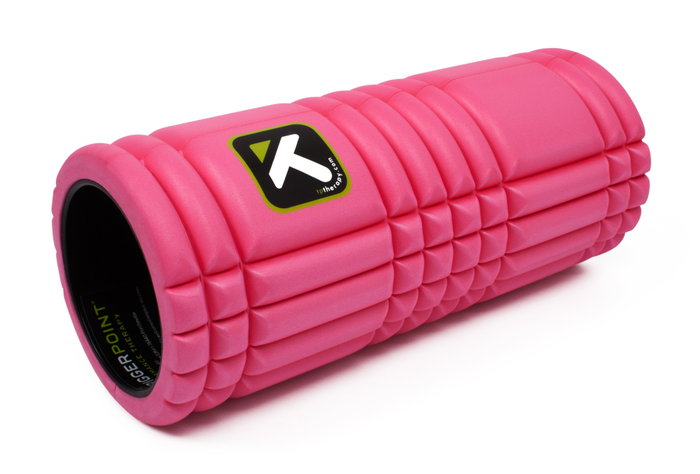 Trigger The Grid Foam Roller Roze
