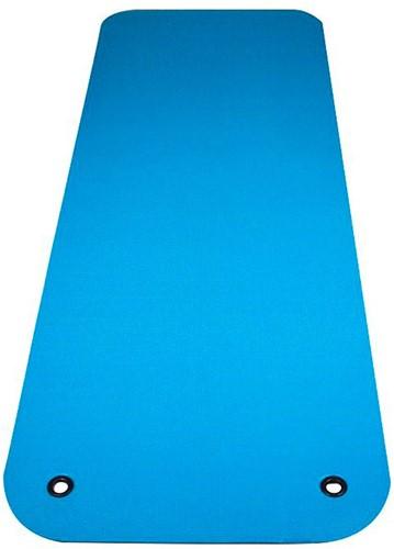 Reha Fit Fitnessmat - Yogamat - Turquoise/Grijs 180x65 cm
