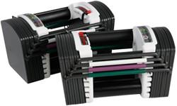 PowerBlock Sport 9.0 stage 1 (1-22 kg per paar) - Verpakking beschadigd