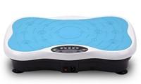 Fitness Body Vibro Pro Blauw Fitness Trilplaat