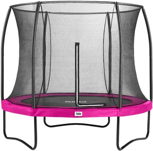 Salta Comfort Edition Trampoline met Veiligheidsnet - 251 cm - Roze