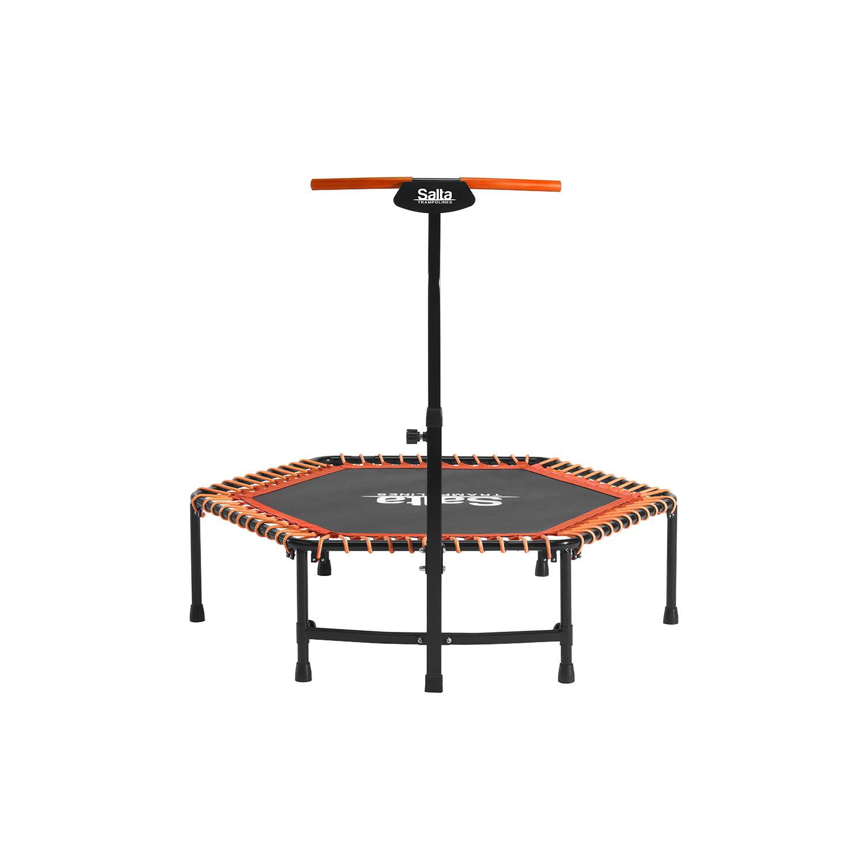 Salta Fitness trampoline including handle bar 140cm