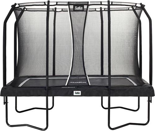 Salta Premium Edition Trampoline met Veiligheidsnet - Zwart - 214 x 305 cm