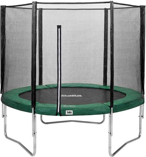 Salta Combo Trampoline met Veiligheidsnet - 251 cm - Groen
