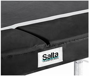 Salta Trampoline Beschermrand - 153 x 214 cm - Zwart