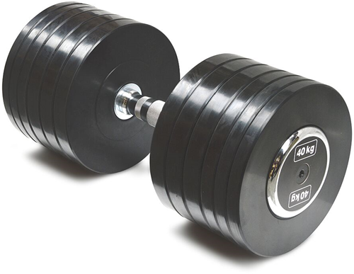 Body-Solid Pro Style Rubber Dumbells - 40 kg