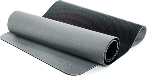 Gymstick Pro Yoga Mat met Ophangogen - Grijs/Zwart - 180 x 61 x 0,6 cm
