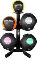 Gymstick rek voor medicijnballen en kettlebells