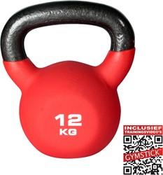 Kettlebell Pro 12 Kg Neopreen Met Trainingsvideo's