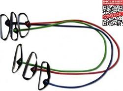Gymstick weerstandkabels met handvaten - Met Online Trainingsvideo's