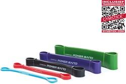 Gymstick Mini Power Bands - Met Online Trainingsvideo's