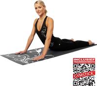 Gymstick Fitness Mat Grijs - Met Trainingsvideo