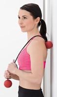 Gymstick Myofascia Massage Bal met Touw