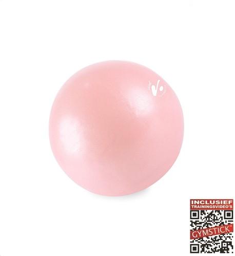Gymstick Vivid Core Ball - Roze - 20 cm - Met Online Trainingsvideo's