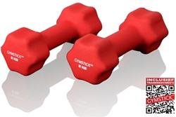 Gymstick Neopreen Dumbell Set met Trainingsvideo's - vanaf 2 kg