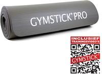 Gymstick fitnessmat NBR Grijs Met Trainingsvideo
