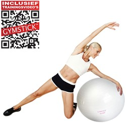 Gymstick Emotion Body Ball - Met Trainingsvideo's - 65 cm