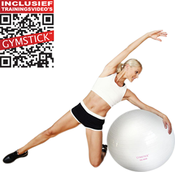 Gymstick Emotion Body Ball - Met Trainingsvideo's - 75 cm