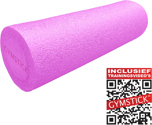 Gymstick Emotion Foam Roller - Met Trainingsvideo's