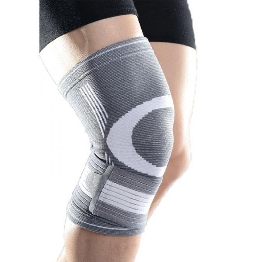 De gymstick verstelbare kniebrace stabiliseert en ondersteunt je knie en helpt om de belasting op je knie ...