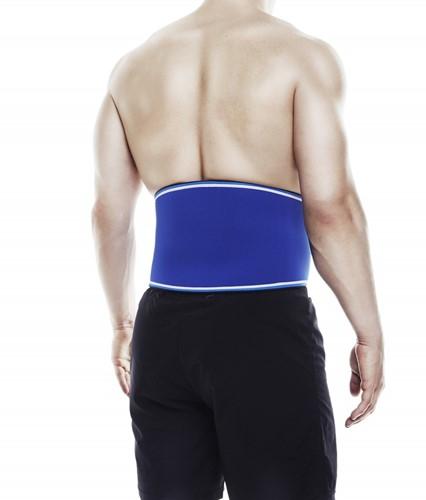 Rehband blue line back support