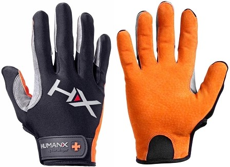 Harbinger Men's X3 Competition Crossfit Fitness Handschoenen Orange/Gray