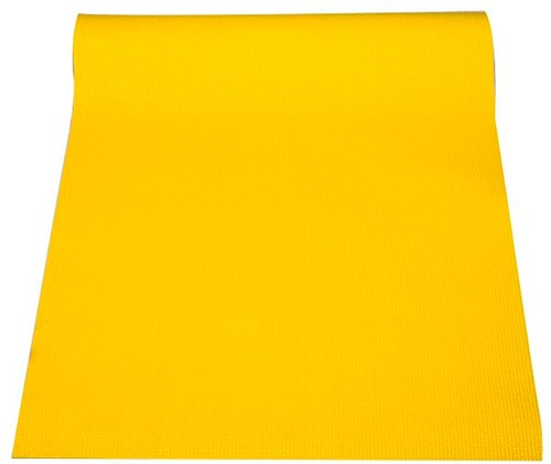 Reha Fit Fitnessmat - Yogamat - Geel-Oranje 180x61 cm-3