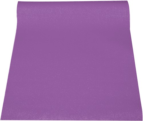 Reha Fit Fitnessmat - Yogamat - Paars 180x61 cm-2
