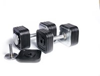Ironmaster Quick-Lock Dumbbells 34 kg-1