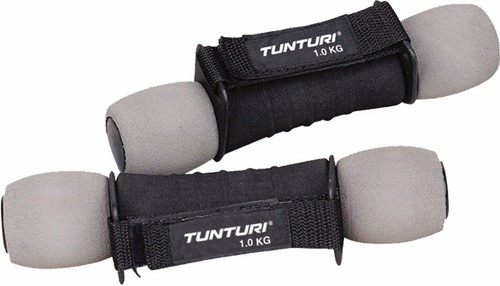 Tunturi Foam dumbells - Vanaf 0.5 kg - Tunturi - 1 kg