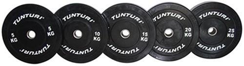 Tunturi Bumper Plate 25kg Black