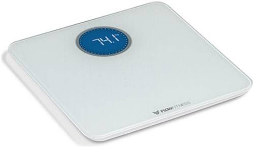 Flow Fitness Bluetooth Smart Scale Weegschaal - Wit