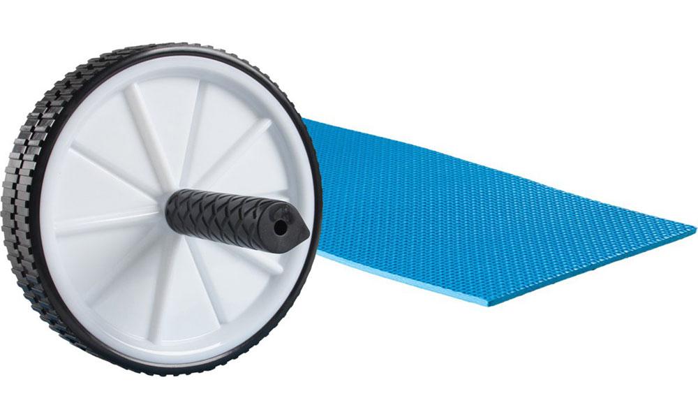 VirtuFit Buikspierwiel-Ab wheel met mat