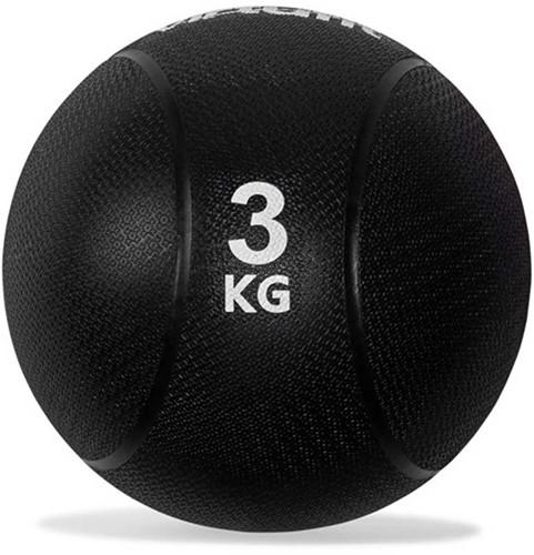 VirtuFit Medicijnbal Pro - 3 kg - Rubber - Zwart