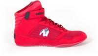 Gorilla Wear High Tops Red - White logo - Fitness Schoenen-1