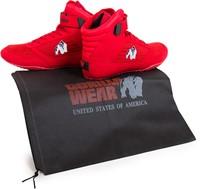 Gorilla Wear High Tops Red - White logo - Fitness Schoenen-3