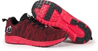 Gorilla Wear Brooklyn Knitted Sneakers (unisex) - Red/Black-3
