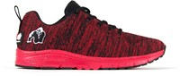 Gorilla Wear Brooklyn Knitted Sneakers (unisex) - Red/Black -2