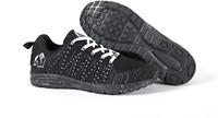 Gorilla Wear Brooklyn Knitted Sneakers (unisex) - Black/White -3