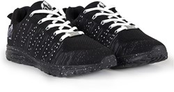 Gorilla Wear Brooklyn Knitted Sneakers (unisex) - Black/White