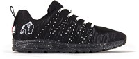 Gorilla Wear Brooklyn Knitted Sneakers (unisex) - Black/White-2
