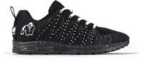 Gorilla Wear Brooklyn Knitted Sneakers (unisex) - Black/White -2