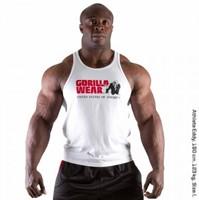 Gorilla Wear Classic Tank Top White-1