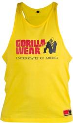 Gorilla Wear Classic Tank Top Yellow