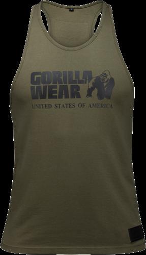 Gorilla Wear Classic Tank Top - Legergroen