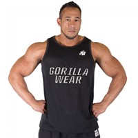 Gorilla Wear New York Mesh Tanktop Black-1
